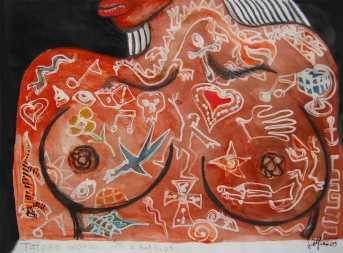 FemmeTatoueeAuxLevresRouges-Delfino-2009_WEB